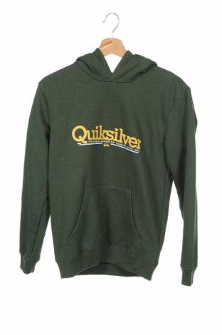 Παιδικό φούτερ Quiksilver, Μέγεθος 13-14y/ 164-168 εκ., Χρώμα Πράσινο, 80% βαμβάκι, 20% πολυεστέρας, Τιμή 18,32€
