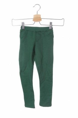 Παιδική κάτω φόρμα, Μέγεθος 4-5y/ 110-116 εκ., Χρώμα Πράσινο, 95% βαμβάκι, 5% ελαστάνη, Τιμή 13,15€