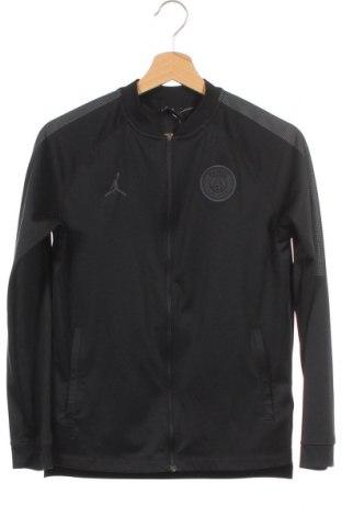 Παιδικό αθλητικό πάνω φόρμα Air Jordan Nike, Μέγεθος 11-12y/ 152-158 εκ., Χρώμα Μαύρο, 97% πολυεστέρας, 3% ελαστάνη, Τιμή 20,78€
