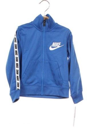 Παιδικό αθλητικό πάνω φόρμα Nike, Μέγεθος 18-24m/ 86-98 εκ., Χρώμα Μπλέ, Πολυεστέρας, Τιμή 21,34€