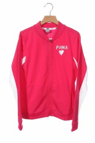 Παιδικό αθλητικό πάνω φόρμα PUMA, Μέγεθος 11-12y/ 152-158 εκ., Χρώμα Ρόζ , Τιμή 15,30€