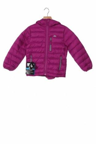 Παιδικό αθλητικό μπουφάν Trespass, Μέγεθος 2-3y/ 98-104 εκ., Χρώμα Βιολετί, Φτερά και πούπουλα, πολυαμίδη, Τιμή 30,81€