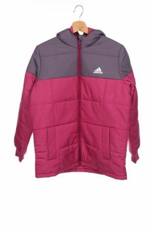 Παιδικό μπουφάν Adidas, Μέγεθος 12-13y/ 158-164 εκ., Χρώμα Ρόζ , Πολυεστέρας, Τιμή 31,92€
