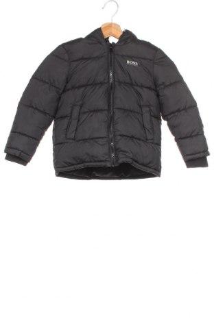 Dětská bunda  Boss, Velikost 3-4y/ 104-110 cm, Barva Černá, Polyester, Cena  2739,00Kč