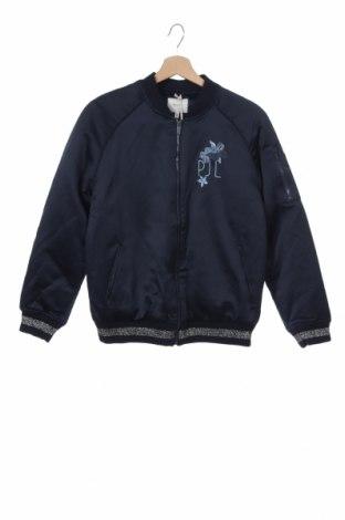Παιδικό μπουφάν Pepe Jeans, Μέγεθος 15-18y/ 170-176 εκ., Χρώμα Μπλέ, 55% βαμβάκι, 45% πολυεστέρας, Τιμή 27,22€