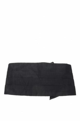 Ζώνη Hugo Boss, Χρώμα Μαύρο, 100% μετάξι, Τιμή 45,08€