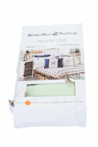Комплект калъфки за възглавници Beverly Hills Polo Club, Цвят Зелен, 100% памук, Цена 22,32лв.