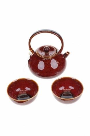 Комплект за чай La Via del Te, Цвят Червен, Керамика, Цена 54,51лв.