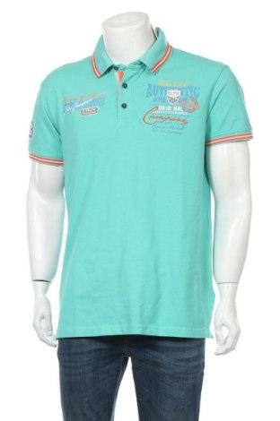 Мъжка тениска Bruno Banani, Размер XL, Цвят Зелен, 95% памук, 5% еластан, Цена 34,50лв.