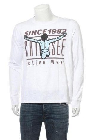 Мъжка блуза Chiemsee, Размер XL, Цвят Бял, Памук, Цена 28,32лв.