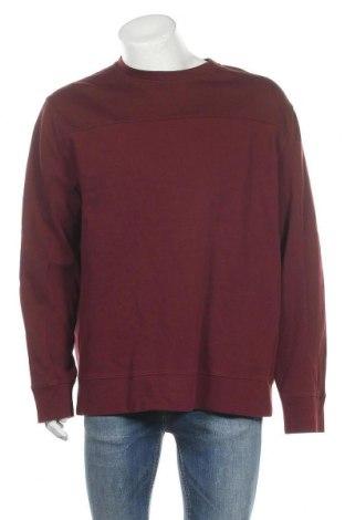 Мъжка блуза DKNY, Размер XXL, Цвят Червен, 75% памук, 25% полиестер, Цена 48,30лв.