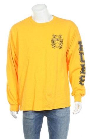 Мъжка блуза Gildan, Размер XL, Цвят Жълт, Памук, Цена 6,25лв.