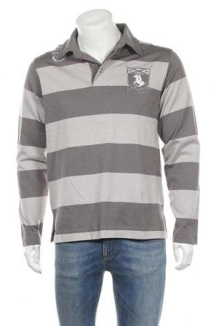Ανδρική μπλούζα Jbc, Μέγεθος L, Χρώμα Γκρί, Βαμβάκι, Τιμή 7,73€