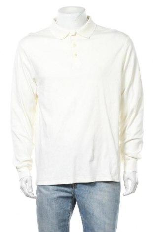 Мъжка блуза Land's End, Размер L, Цвят Екрю, Цена 15,12лв.