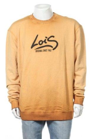 Мъжка блуза Lois, Размер XXL, Цвят Кафяв, Памук, Цена 36,57лв.