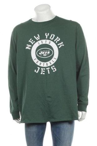 Ανδρική μπλούζα NFL, Μέγεθος XXL, Χρώμα Πράσινο, Βαμβάκι, Τιμή 10,49€