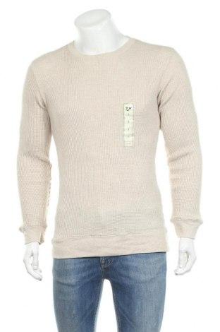Мъжка блуза Outdoor Life, Размер S, Цвят Бежов, 60% памук, 40% полиестер, Цена 8,40лв.