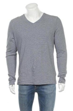Мъжка блуза Scotch & Soda, Размер L, Цвят Син, 50% памук, 50% акрил, Цена 47,88лв.
