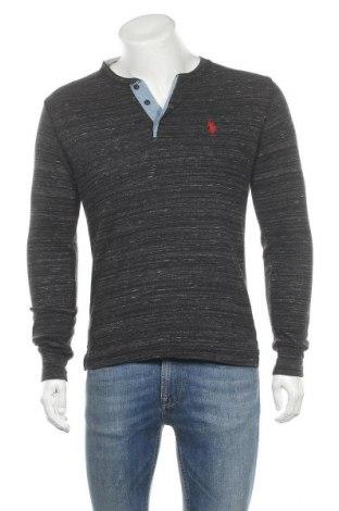 Мъжка блуза U.S. Polo Assn., Размер S, Цвят Сив, 60% памук, 40% полиестер, Цена 22,52лв.