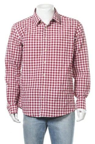 Ανδρικό πουκάμισο Almsach, Μέγεθος XXL, Χρώμα Κόκκινο, 60% βαμβάκι, 40% πολυεστέρας, Τιμή 7,60€