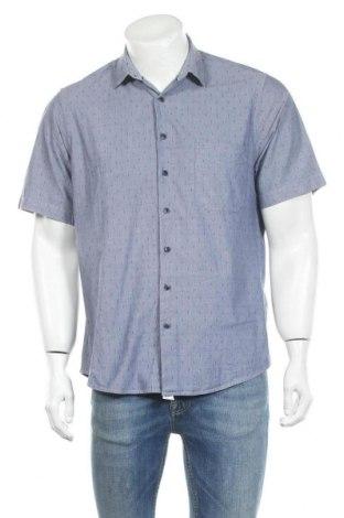 Мъжка риза Bexleys, Размер M, Цвят Син, Памук, Цена 14,28лв.