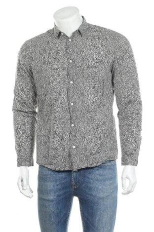 Мъжка риза COS, Размер M, Цвят Зелен, Памук, Цена 26,46лв.