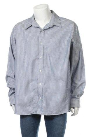 Мъжка риза Eddie Bauer, Размер XXL, Цвят Син, Памук, Цена 18,90лв.