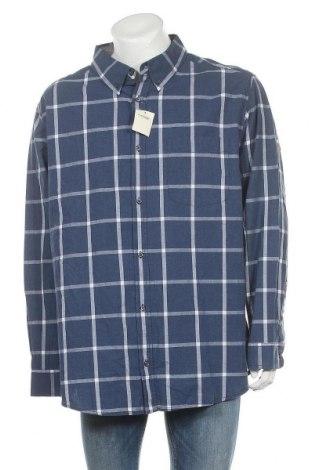 Мъжка риза George, Размер XXL, Цвят Син, Памук, Цена 27,30лв.