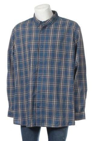 Мъжка риза George, Размер 3XL, Цвят Многоцветен, 55% памук, 45% полиестер, Цена 18,90лв.