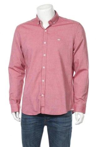 Мъжка риза Giorgio Di Mare, Размер XL, Цвят Червен, Памук, Цена 53,36лв.