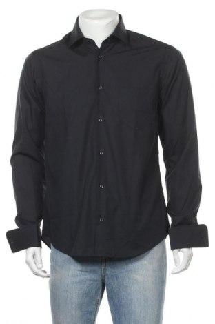 Мъжка риза Lawrence Grey, Размер M, Цвят Черен, Памук, Цена 33,84лв.
