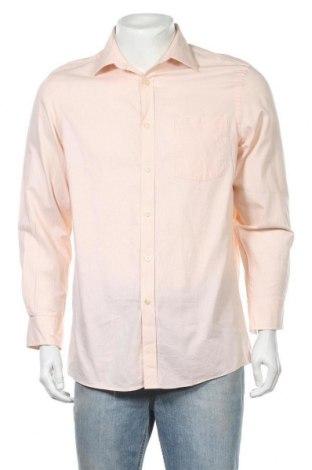 Мъжка риза MICHAEL Michael Kors, Размер M, Цвят Розов, 100% памук, Цена 44,64лв.