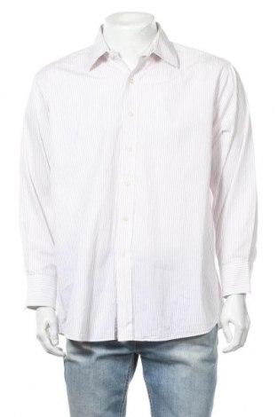Мъжка риза Michael Kors, Размер XL, Цвят Бял, Памук, Цена 28,52лв.
