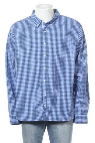 Ανδρικό πουκάμισο Nautica, Μέγεθος 3XL, Χρώμα Μπλέ, Βαμβάκι, Τιμή 22,08€
