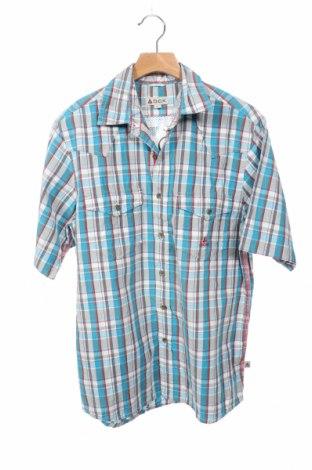 Мъжка риза Ock, Размер S, Цвят Многоцветен, Памук, Цена 17,96лв.