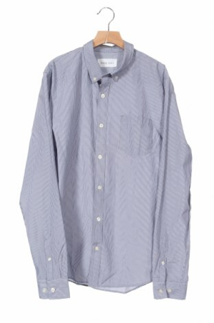 Мъжка риза Pier One, Размер S, Цвят Син, 50% памук, 50% полиестер, Цена 3,00лв.