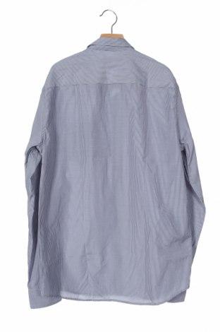 Мъжка риза Pier One, Размер S, Цвят Син, 50% памук, 50% полиестер, Цена 42,00лв.