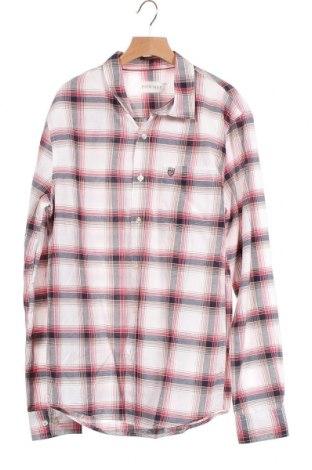 Мъжка риза Pier One, Размер S, Цвят Многоцветен, 63% памук, 37% полиестер, Цена 3,37лв.