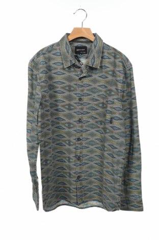 Ανδρικό πουκάμισο Quiksilver, Μέγεθος XS, Χρώμα Πολύχρωμο, 100% βαμβάκι, Τιμή 13,28€