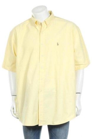 Мъжка риза Ralph Lauren, Размер XXL, Цвят Жълт, Памук, Цена 27,93лв.