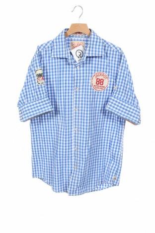 Мъжка риза Scotch & Soda, Размер M, Цвят Син, Памук, Цена 36,00лв.