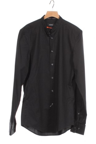 Мъжка риза Seidensticker, Размер XS, Цвят Черен, Памук, Цена 33,12лв.