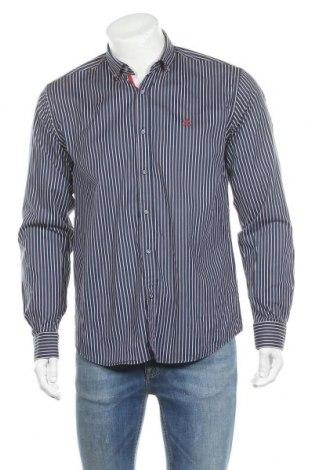 Мъжка риза Sir Raymond Tailor, Размер M, Цвят Син, 98% памук, 2% еластан, Цена 44,16лв.