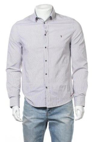 Мъжка риза Trussardi Jeans, Размер M, Цвят Многоцветен, 97% памук, 3% еластан, Цена 77,40лв.