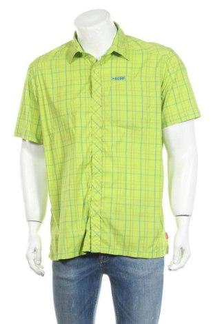 Мъжка риза Vittorio Rossi, Размер XL, Цвят Зелен, 96% полиестер, 4% еластан, Цена 15,75лв.