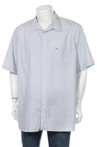 Мъжка риза Walbusch, Размер 4XL, Цвят Син, Памук, Цена 12,97лв.