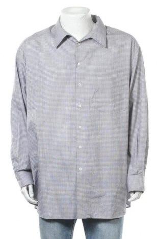 Мъжка риза Walbusch, Размер 4XL, Цвят Сив, Памук, Цена 16,07лв.