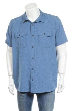 Ανδρικό πουκάμισο ZeroXposur, Μέγεθος XL, Χρώμα Μπλέ, 93% πολυεστέρας, 7% ελαστάνη, Τιμή 8,18€