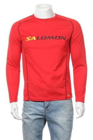 Мъжка спортна блуза Salomon, Размер S, Цвят Червен, Полиестер, Цена 28,08лв.