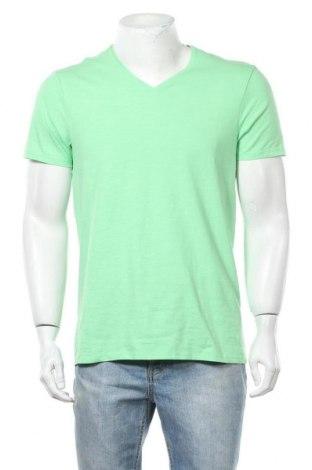 Мъжка тениска 17 & Co., Размер XL, Цвят Зелен, 80% памук, 12% полиестер, 8% еластан, Цена 20,48лв.
